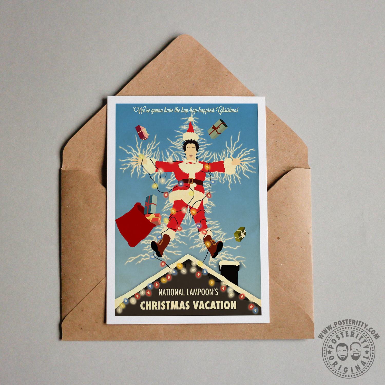 National Lampoons Christmas Vacation - Minimal Christmas Card ...