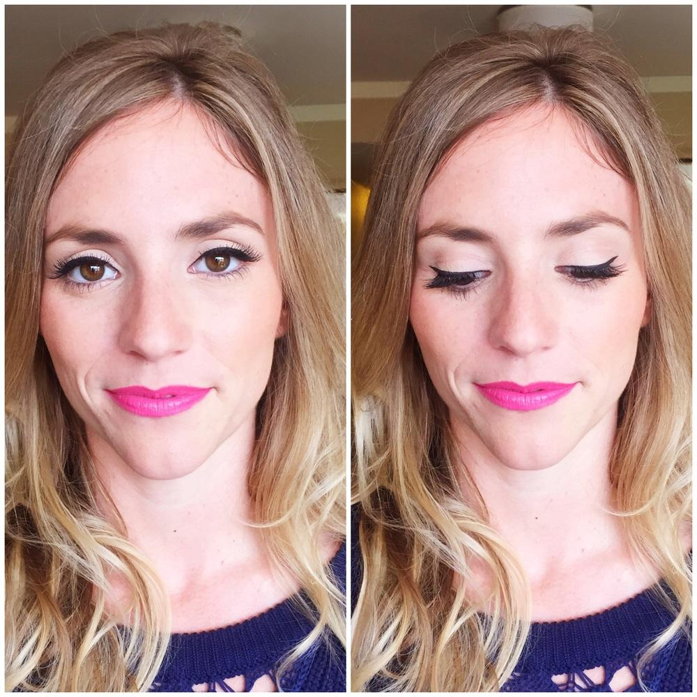 Bridesmaid makeup!