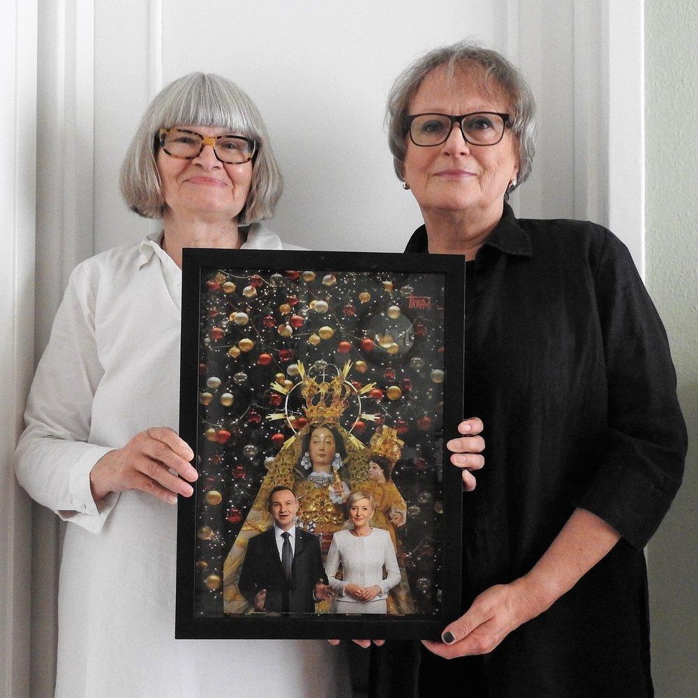 """Ania Warda:  """"Odwiedziła mnie przyjaciółka z Lublina z obrazem i niejako przypadkiem wzięłam udział w artystycznym wydarzeniu"""""""