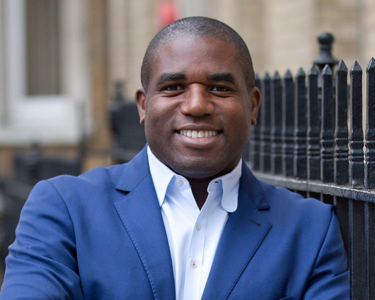 David Lammy MP  David Lammy is more than just the MP for Tottenham. He's also one of the leading agenda setters in the fields of social activism, diversity and multi-culturalism. As a member of the previous Labour Government (2001-2010), David brings with him all the gravitas and expertise you'd expect from someone with his extensive political experience.   www.davidlammy.net