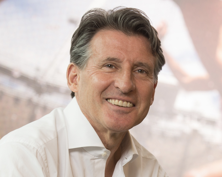 Lord Sebastian Coe  With an extraordinary career at the highest levels of sport, politics, and international diplomacy, Lord Coe has achieved huge success by leading from the front to make vision a reality. He cemented his place in public life leading the successful bid, and subsequently the organising committee, for London 2012, and is today the President of the   IAAF    and Executive Chairman of   CSM Sport & Entertainment.