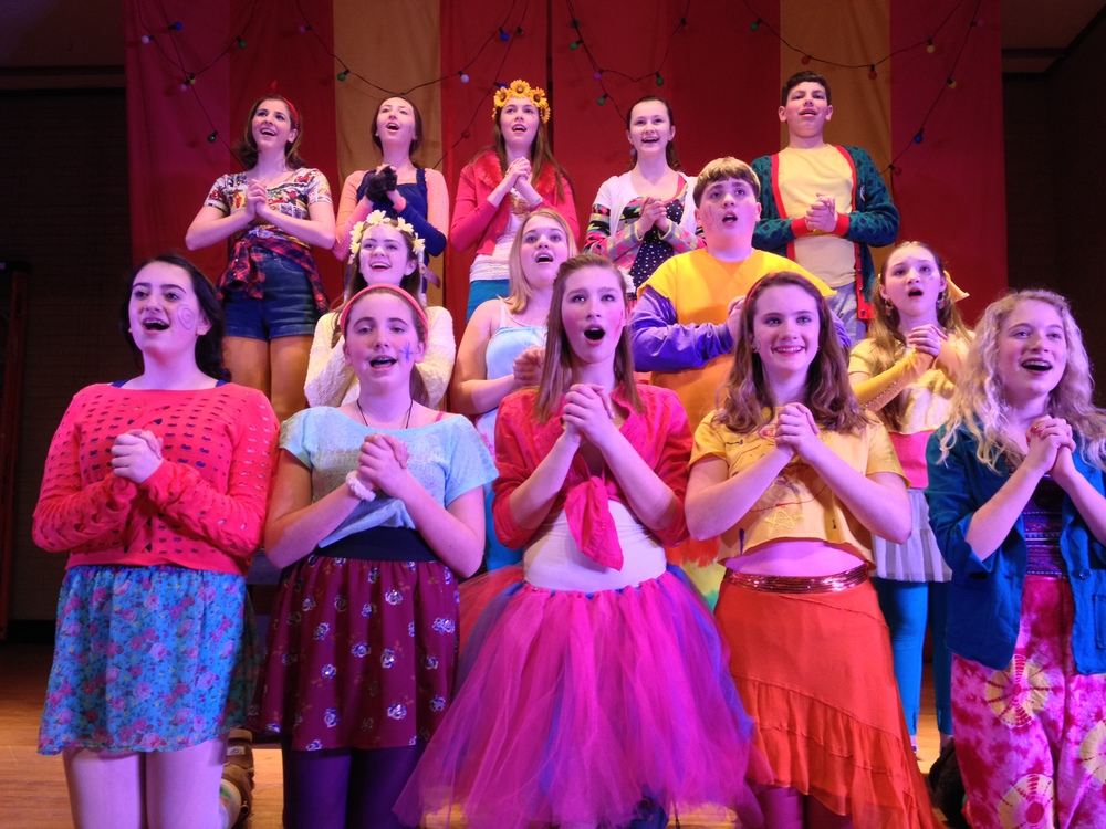"The Cast of ""Godspell Jr."" 2014"
