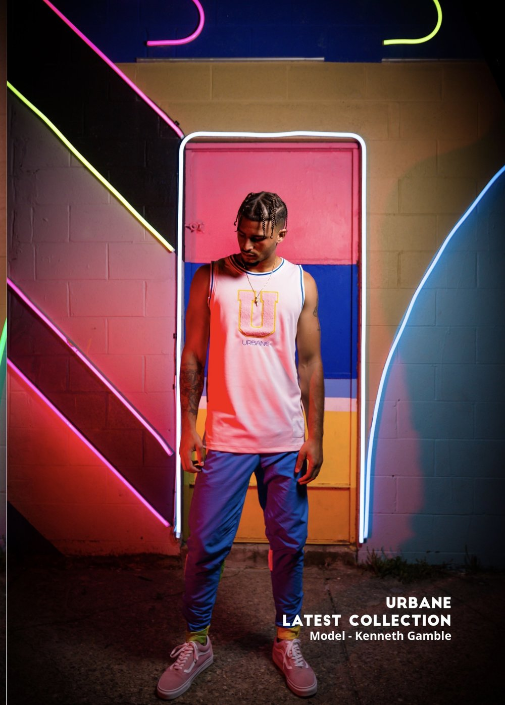 High Voltage Fashion Magazine Summer Issue Feature - HVF Magazine Features URBANE SS17