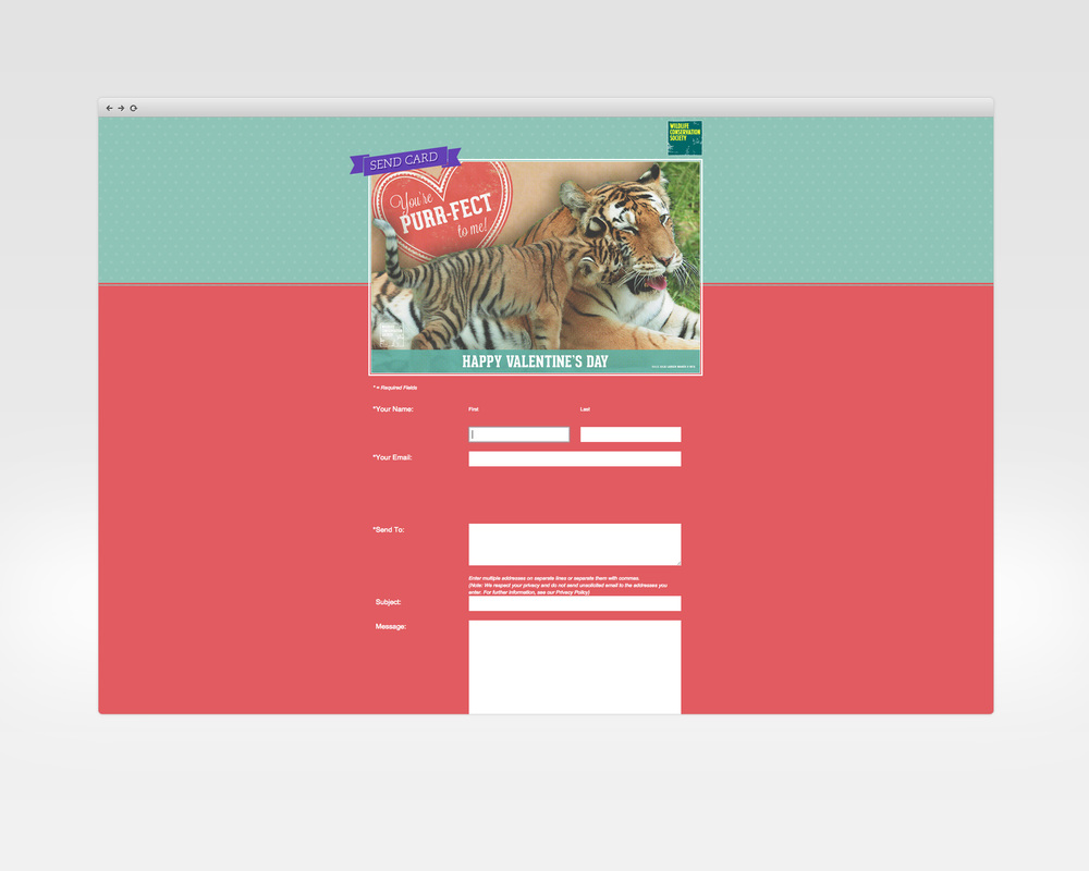 wild valentines   design, ux, development   E-card list generation engagement for Valentines Day.   View Project