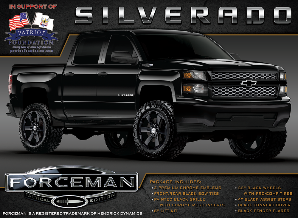Gmc Special Edition Trucks >> FORCEMAN Tactical Truck | Chevrolet and GMC Special Edition