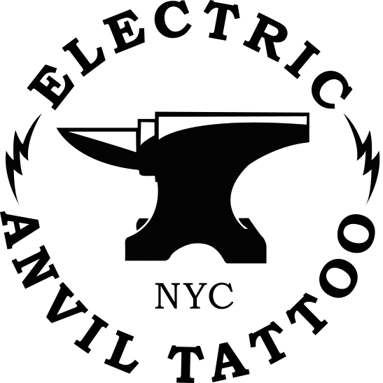 Electric Anvil Tattoo