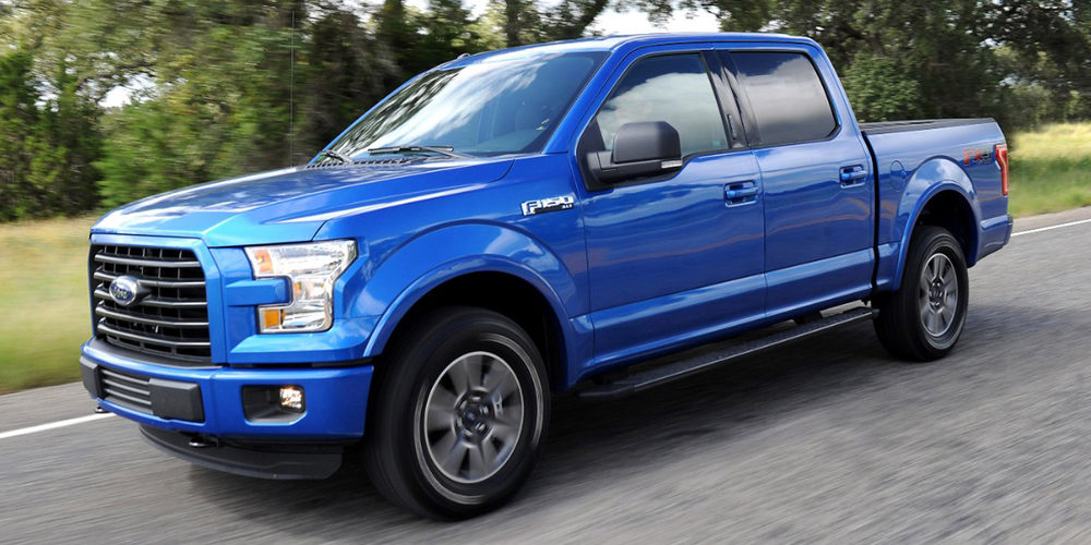 Ford F-150 pickup truck - the #1 Seller of 2015