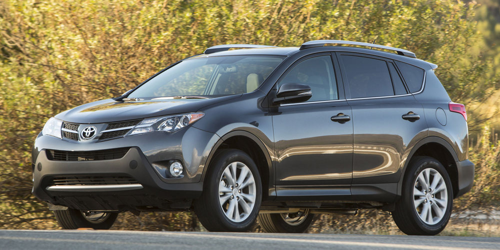 The ever sporty and durable Toyota RAV4