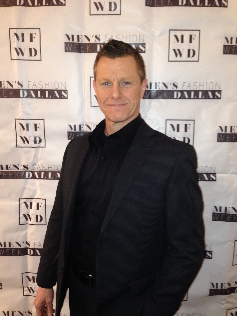 Car Leasing Concierge Owner Paul Maloney at Mahiri Takai Men's Collection Debut at NYC Fashion Week