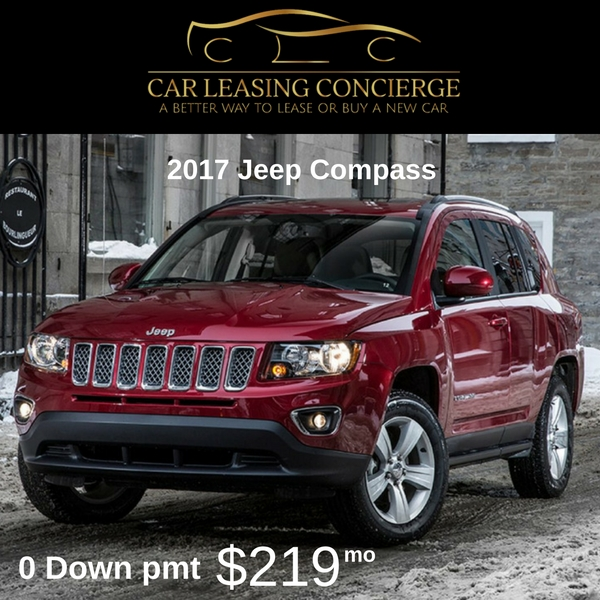 0 Down Lease >> 2017 Best Suv Lease Deals For Under 300 A Month
