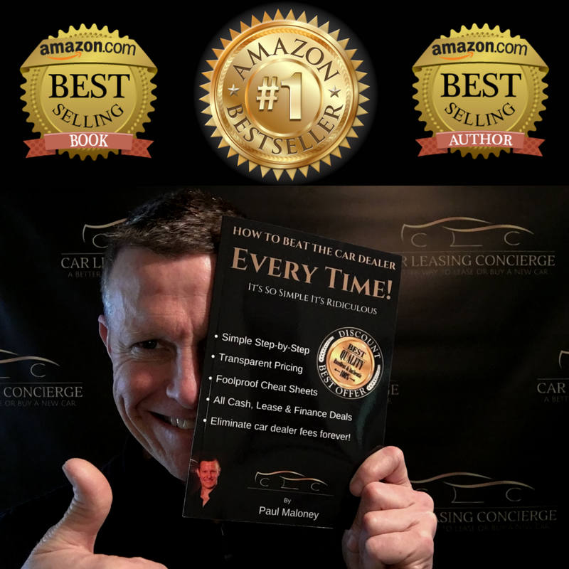 "Automotive expert and #1 best selling Author Paul Maloney with his #1 best selling book in 7 categories, ""How To Beat The Car Dealer Every Time! It's So Simple, It's Ridiculous."""
