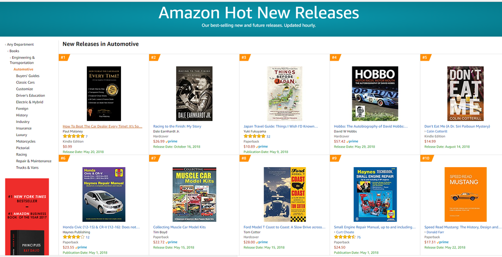 #1 in the top 100 new release in automotive.png