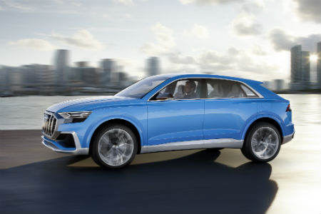 2019 Audi Q8 SUV - Car Leasing Concierge