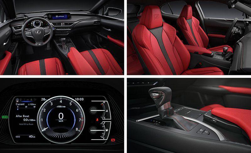 lexus ux 200 interior car leasing concierge