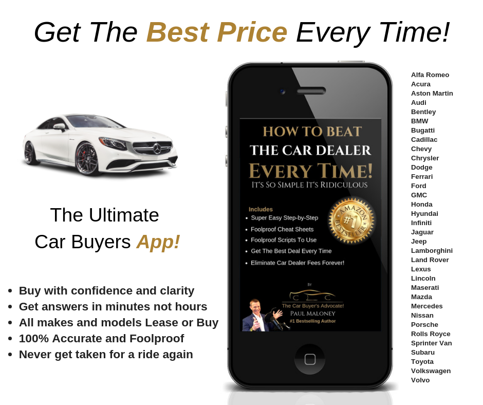 How To Beat The Car Dealer Every Time, It's So Simple It's Ridiculous ebook App