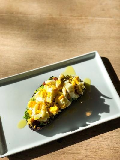 Avocado Toast @ Harvest Juicery