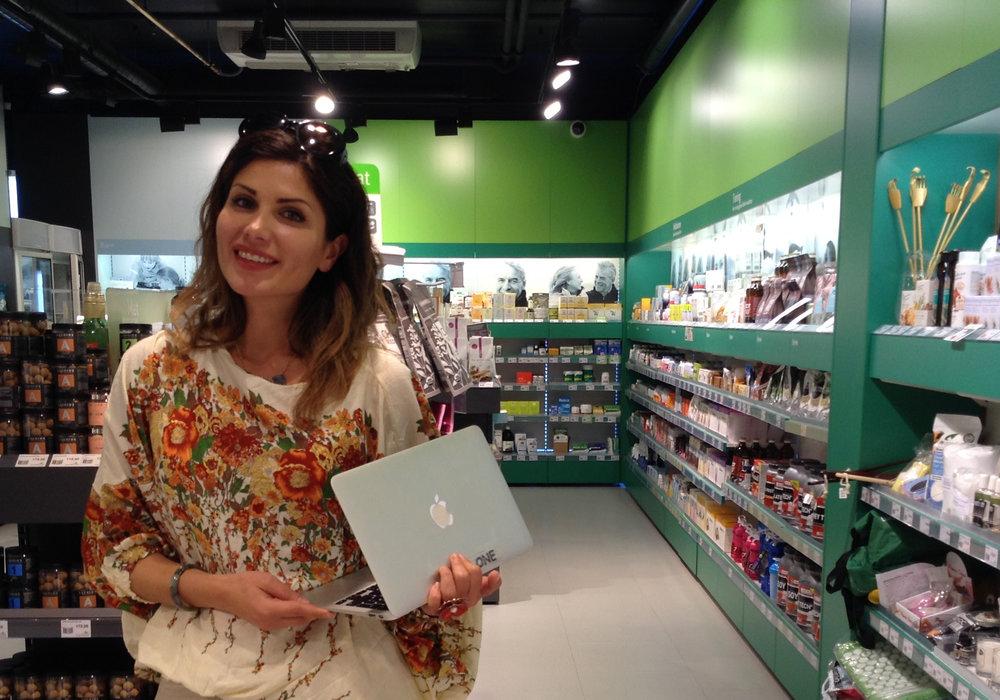 Daglig leder i BIOselect Norge Maria Ben-Shams på Sunkost Holmen
