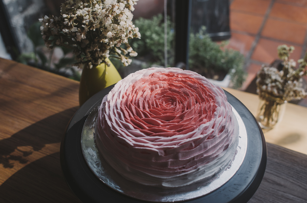 Rose Cake  18cm : 500.000 VND