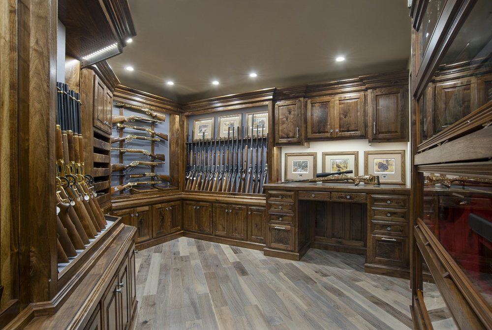 Gun Rooms Amp Cabinetry Julian Amp Sons Fine Woodworking