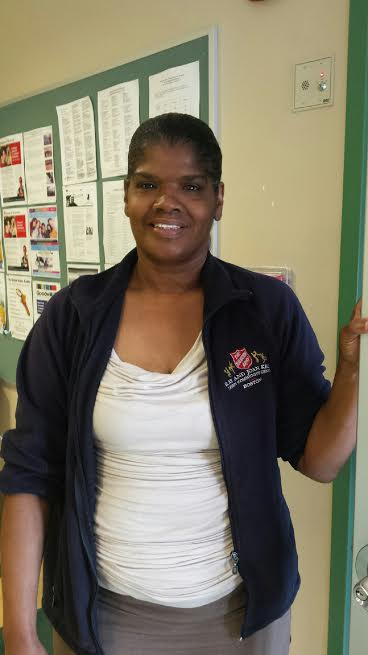 Cheryl Williams, Salvation Army in Dorchester, MA