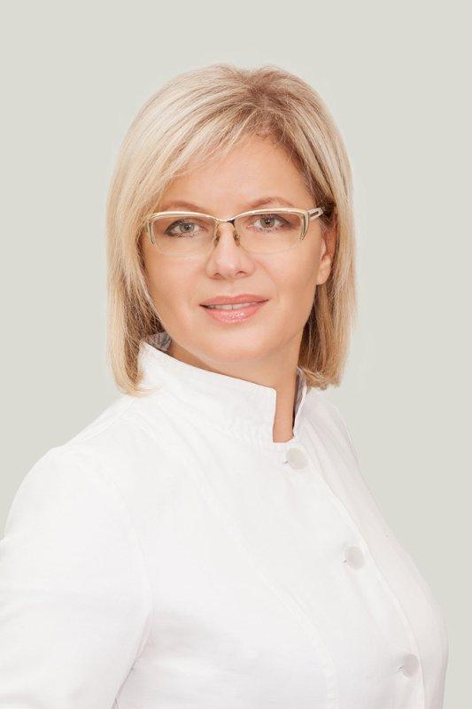 Президент Асоціації Ортодонтів України,  проф. Мирослава Дрогомирецька
