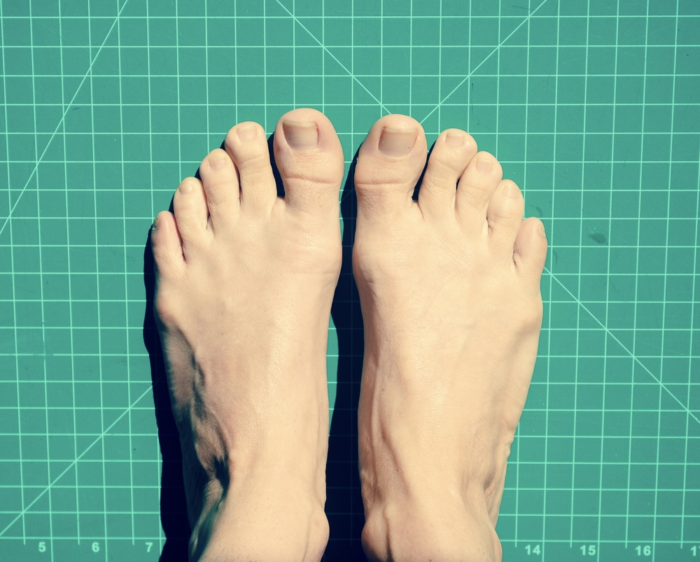 A photo of your feet!