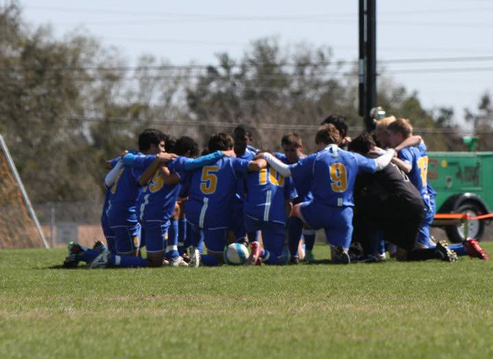 TRUEnergy Ryan Soccer Huddle
