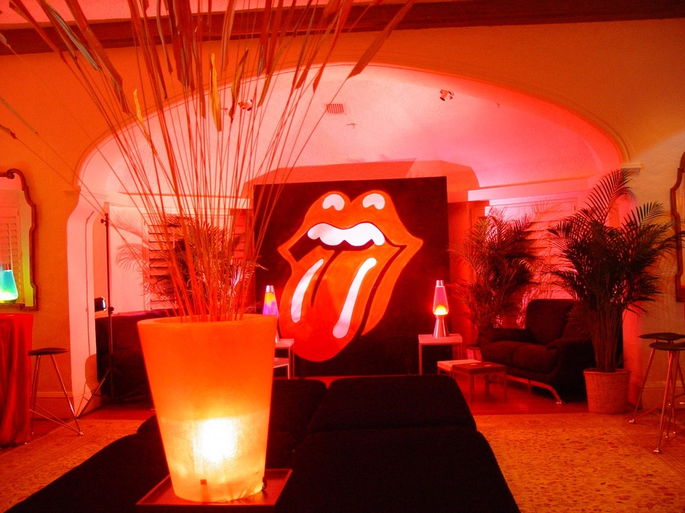 eggsotic events rock and roll music theme decor rental nj 1jpg - Halloween Rental Decorations