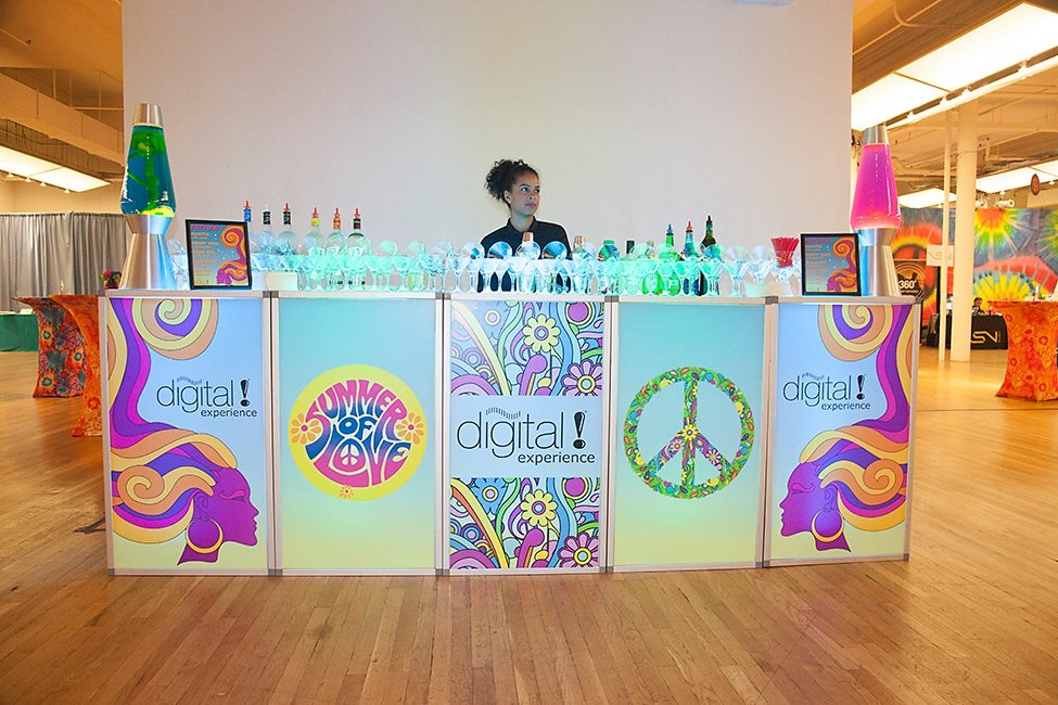 1960s Custom Theme Bar Rental For Events