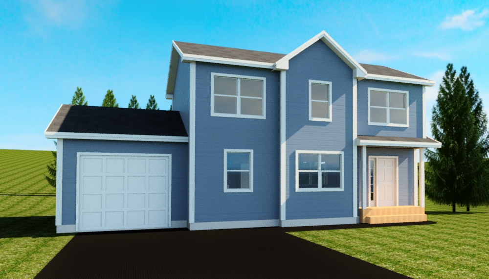3 BEDROOMS  •  2.5 BATHROOMS  •  SINGLE GARAGE   •  1447 SQ FT