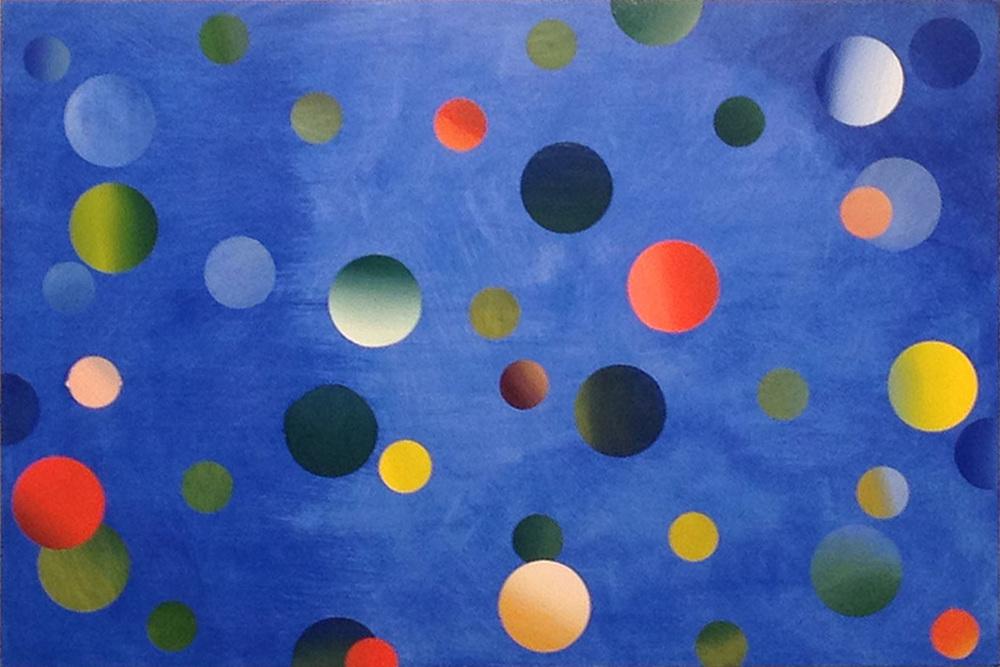 "Untitled. Oil on board, 36"" x 24"", 2014"
