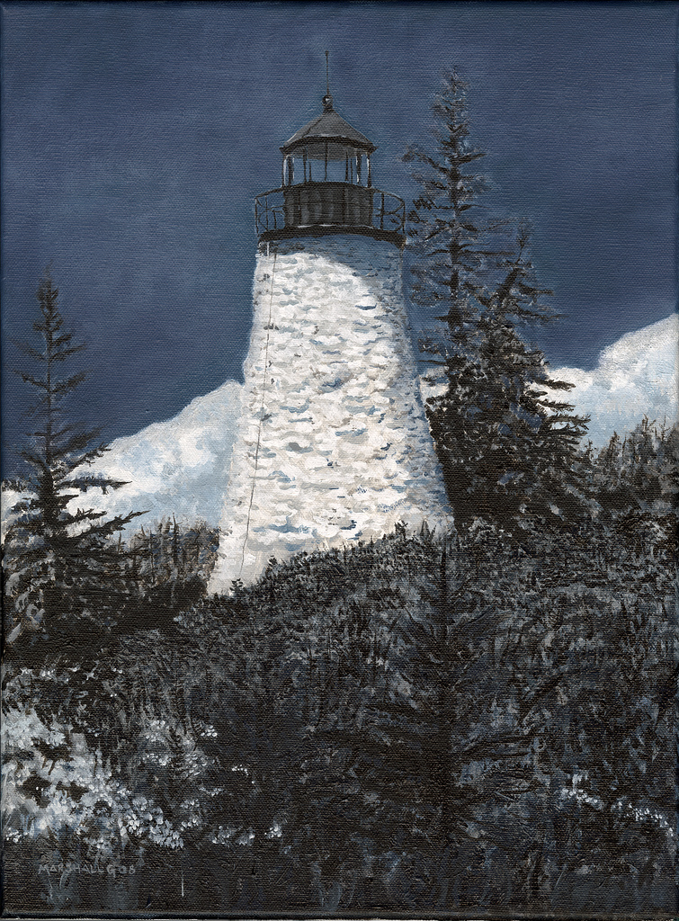 Lighthouse in Castine, ME - NFS