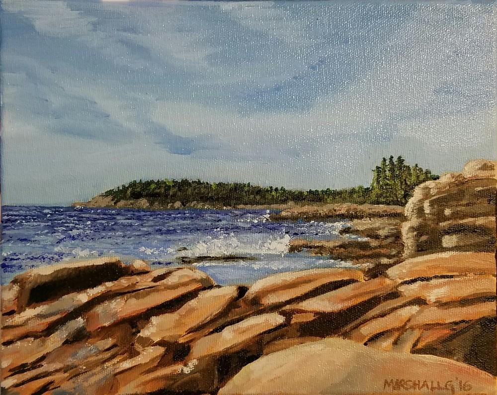 Otter Point on the Acadia Coast - NFS