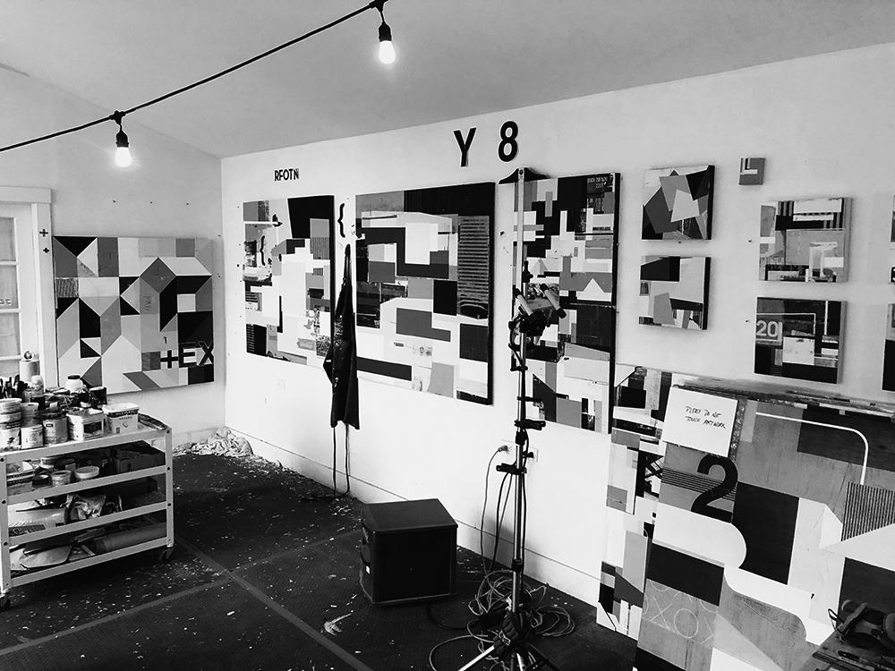 Studio scene, where the magic happens. ;)