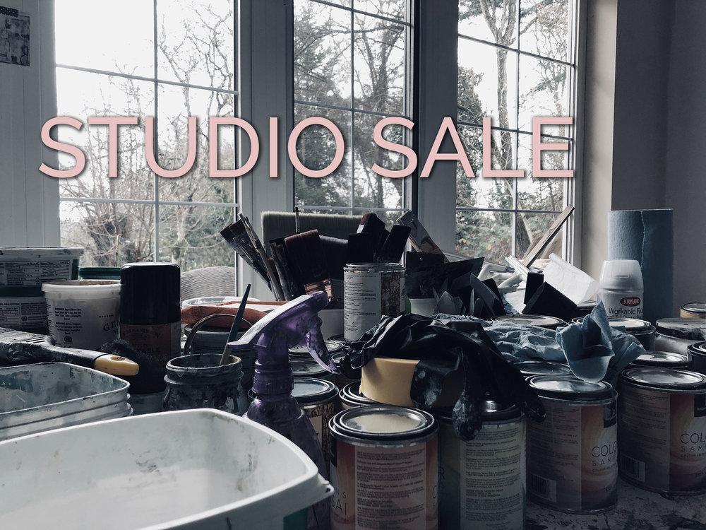 Year End Studio Sale