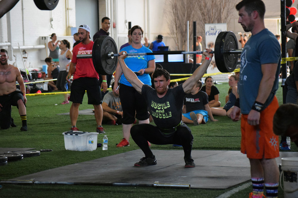 Coach Anthony - Snatch Complex at Summer Slam
