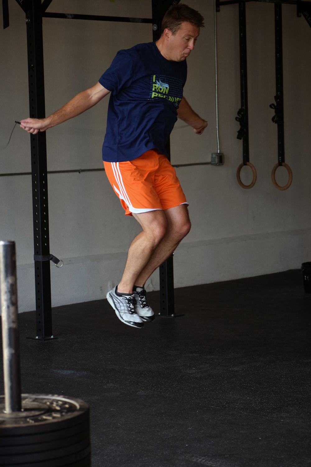 Tim working on his double unders