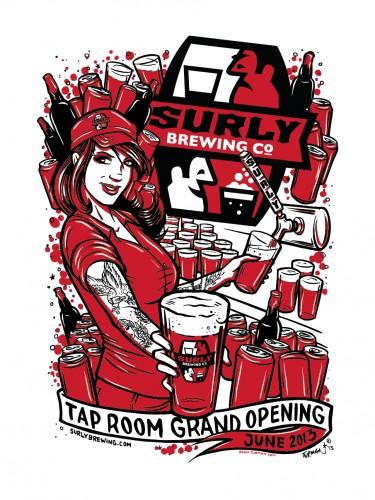 Surly Tap Room Grand Opening — Adam Turman
