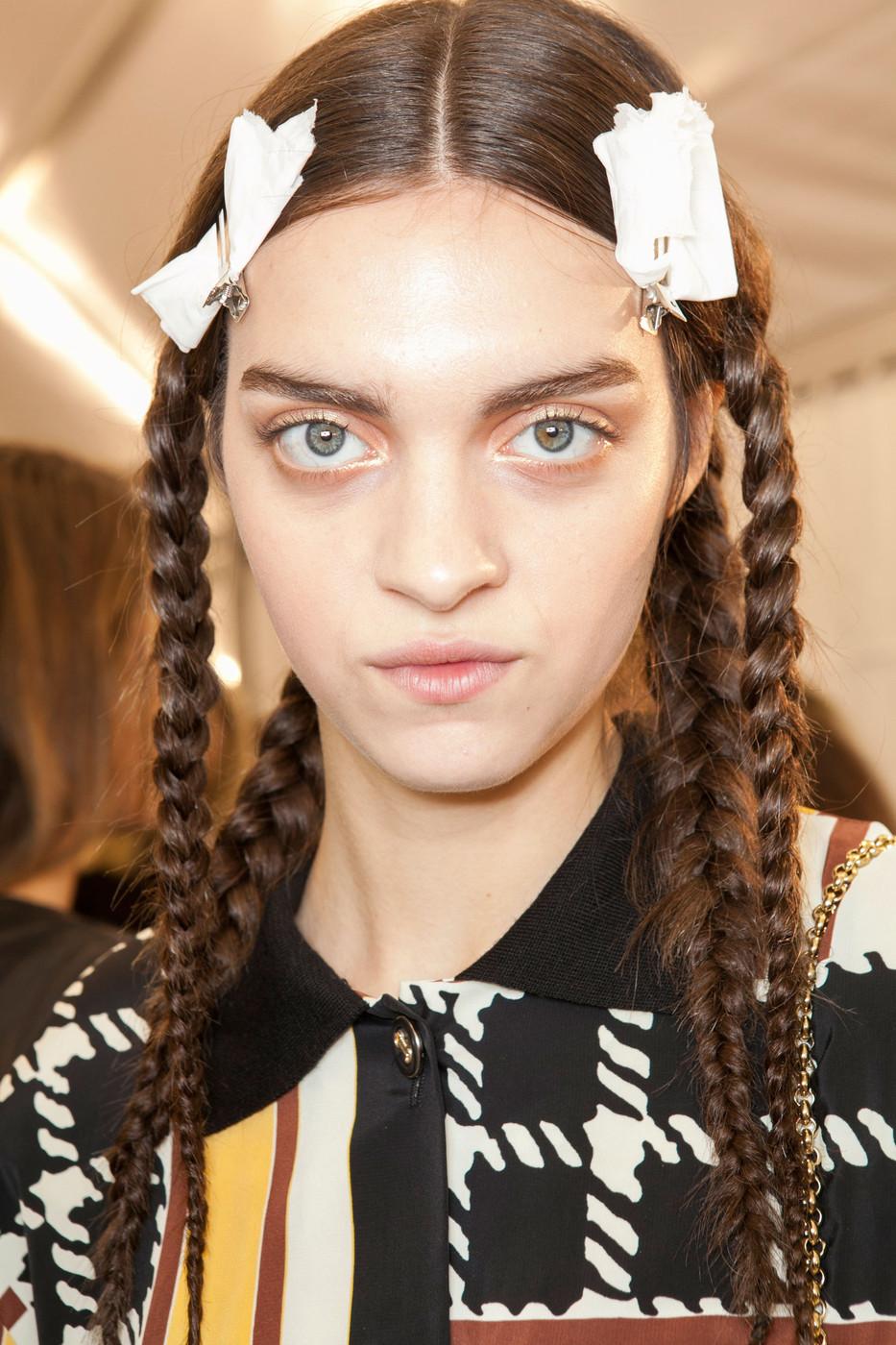 Paris Fashion Week Spring Summer 2013 Top Hair Trends Sascha Breuer