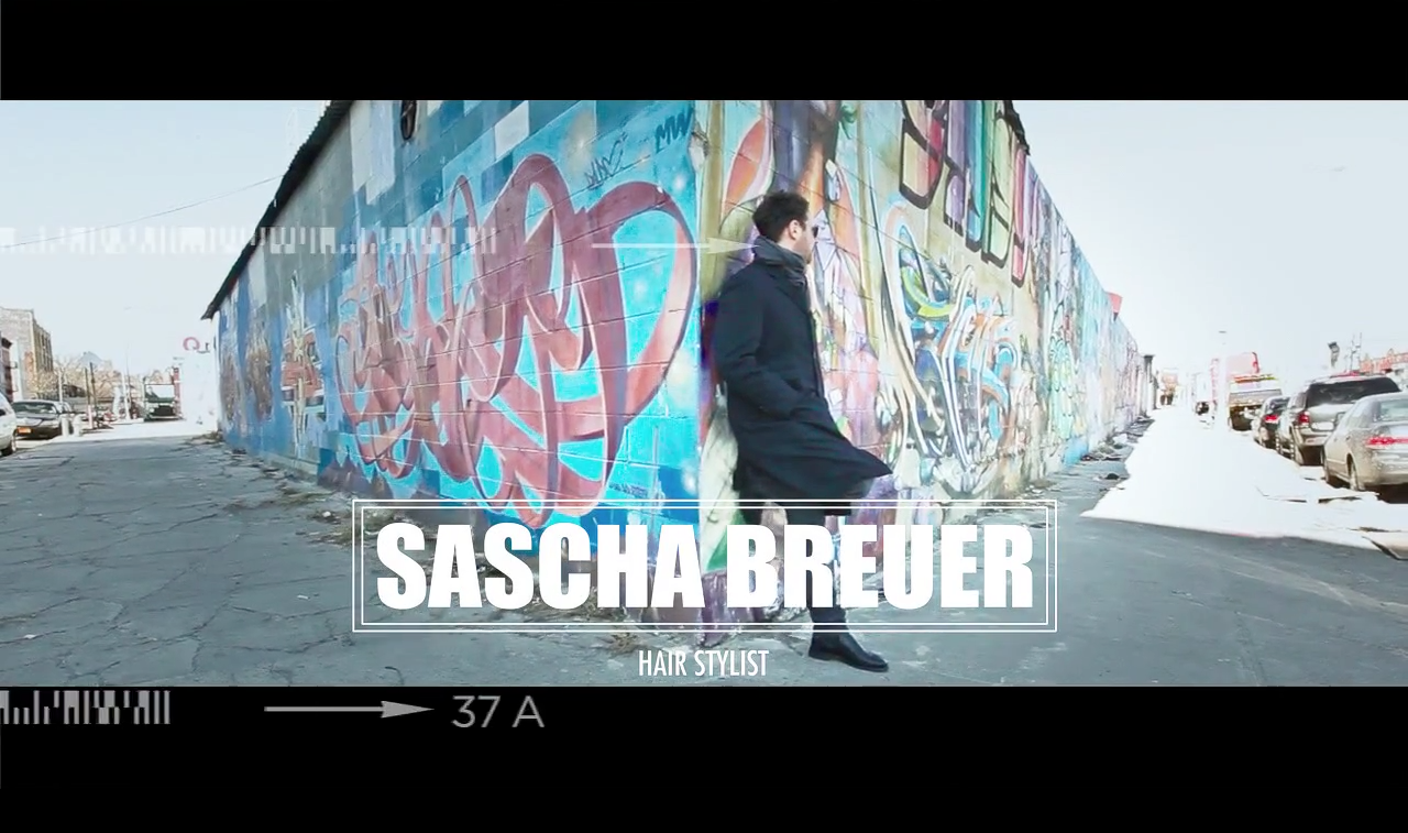Sascha Breuer Hair, there and everywhere!