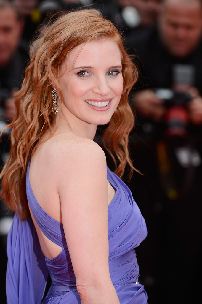 #JessicaChastain #Cannes #2014