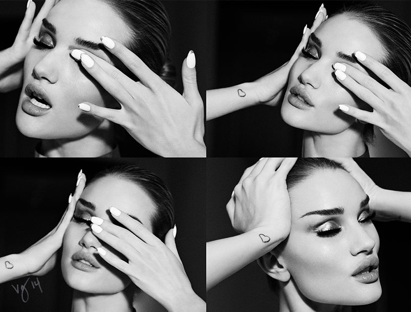#Rosie-Huntington-Whiteley #hairby #SaschaBreuer