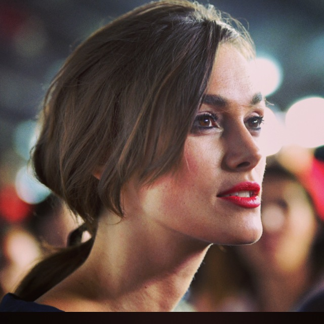 #KeiraKnightley #hairby #saschabreuer
