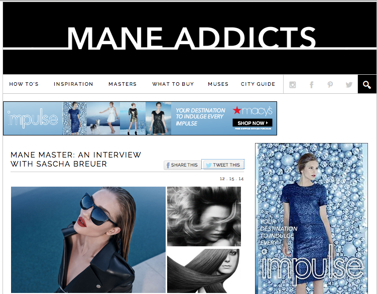 Interview  for Mane Addicts
