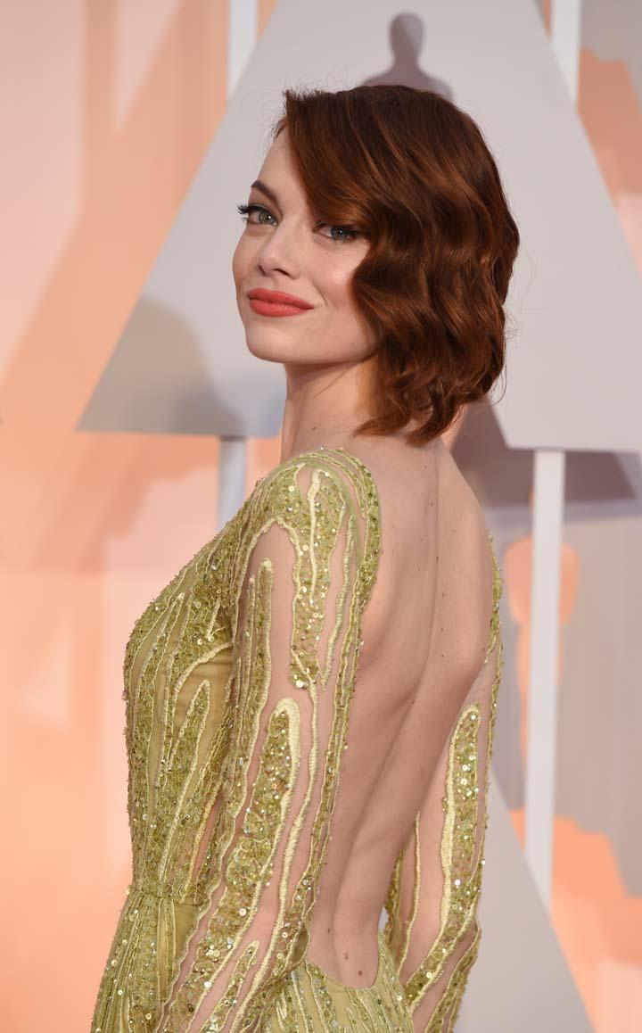 #EmmaStone #Oscars2015