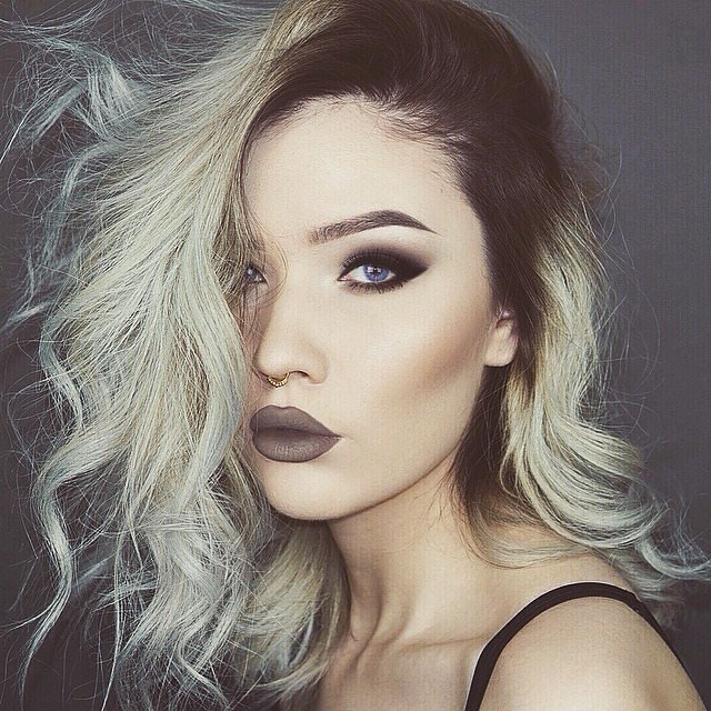 #greyhair #greytrend #grannyhair #2015haircolor #grey #haircolortrends