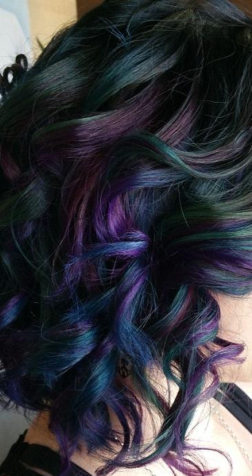 #oilslick #hair #colour #color #trend