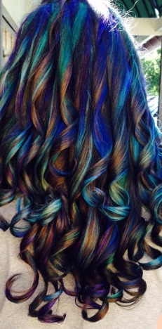 #oilslick #hair #colour #color #trend