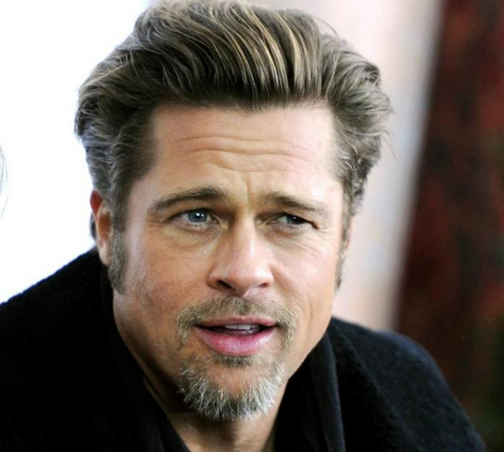 Male Celebrity Hair Inspiration Brad Pitt Sascha Breuer