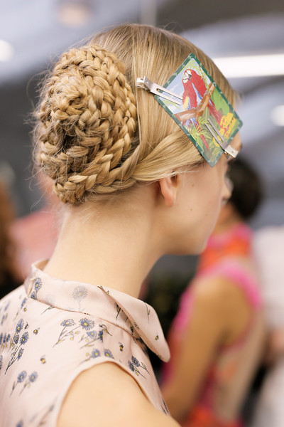 Top Hair Trends From London Fashion Week Spring Summer 2017 Sascha